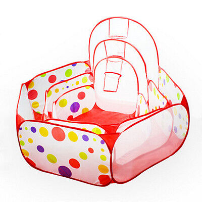 New Kids Play Tent Baby Safety Play Yard Outdoor Garden Foldable Playpen Toys