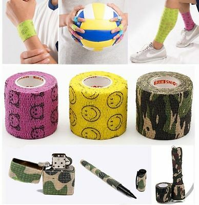 1pc Waterproof Bandage Wraps Stretch Self Adhesive Medical Tape Body Protector K