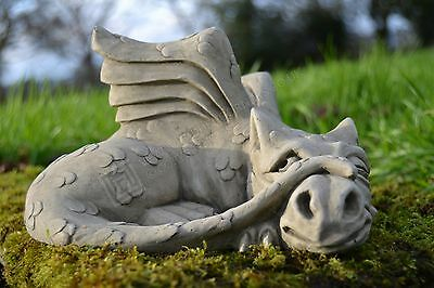 James-Dragon Garden Ornament-Gargoyle-Sculpture Stone Statue-Decorative Gift