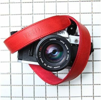 CIESTA Leather Strap L30 [Giano Red] Shoulder Neck D-SLR RF Mirrorless Camera