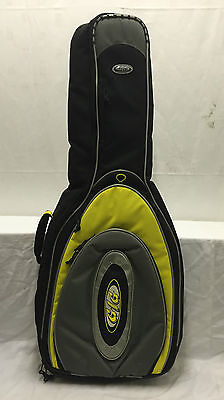 Brand New Yellow Electric Guitar Padded Carry Case Gig Bag
