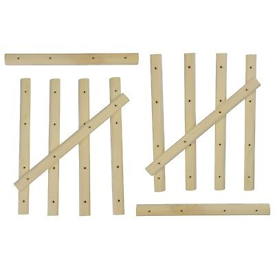 12 x Training Slat for Campus Board Size S Climbing Bouldering