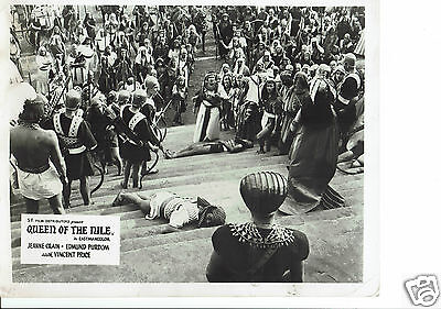 Queen of the Nile Edmund Purdom 4 x Vintage UK Lobby Cards 1962