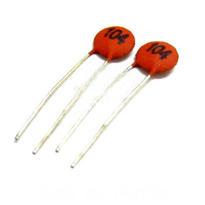 1000V 1kvdc .0001uf Panasonic Radial Ceramic Disc Capacitor 10pcs 100pF
