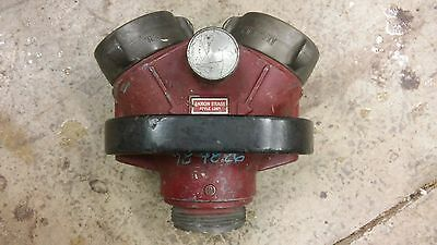 2-1/2 Siamese for Fire Engine Akron Pyrolite