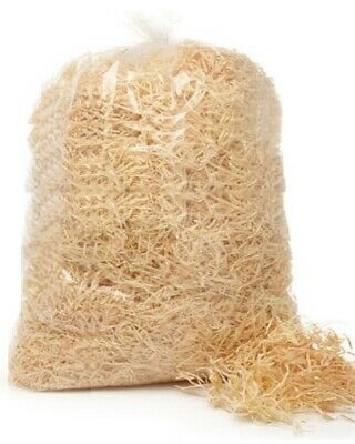 WOOD WOOL 1 kg bag -  Natural Packaging shred fill for gifts hampers decoration
