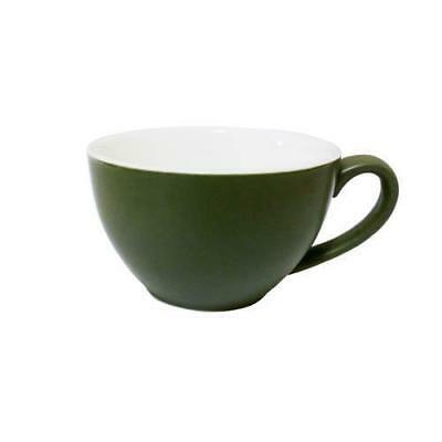 6x Cappuccino Cup Sage Green 200mL Bevande Coffee Tea Hot Chocolate Cups