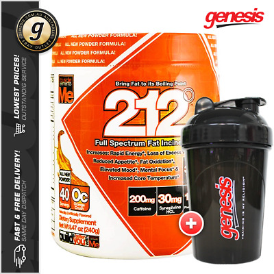 212 Fat Burner Powder *40 Serves* Muscle Elements Thermogenic + FREE Shaker!