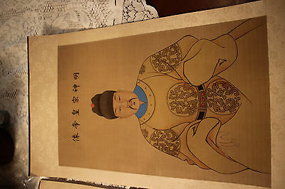 Antique Chinese Paintings - 2 pieces
