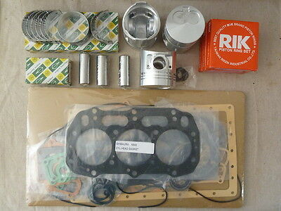 Shibaura N843 Overhaul / Rebuild Kit STD or +0.5