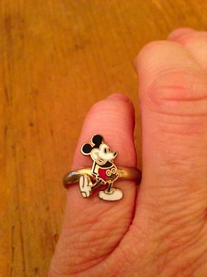 Child's Vintage Mickey Mouse Ring