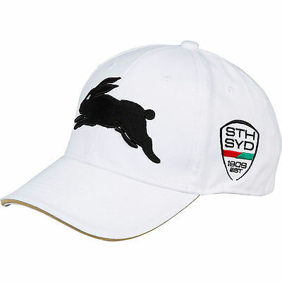 South Sydney Rabbitohs Media Cap White ISC CLEARANCE PRICE!