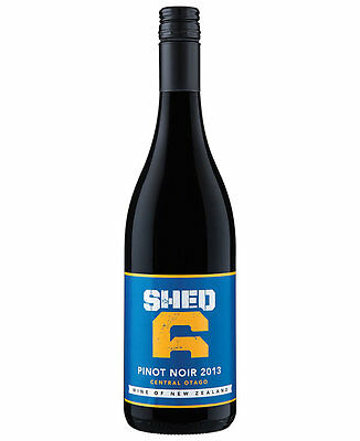 Shed 6 Central Otago Pinot Noir 2013 (12 Bottles)