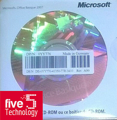 Software Microsoft Office Basic Sbproh/s 2007  269-11472