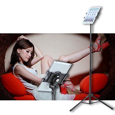 "Multi-direction Floor Stand Tripod Holder For 7-10"" iPAD 2 3 4 Air Hot MJ"