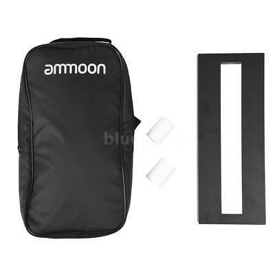 ammoon DB-1 Mini Guitar Pedal Board with Carrying Bag Tapes New G8R8