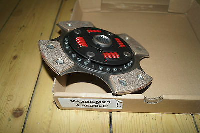 Mazda MX5 1.6 4 paddle clutch, Mk1 or Mk2, Ideal for Turbo/Supercharged