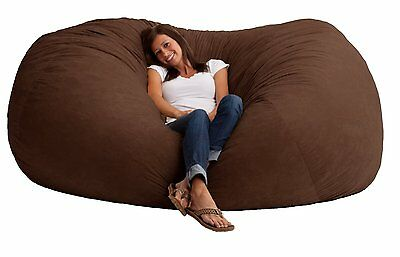 New Giant Bean Bag Chair Oversized 7 Ft L Large Comfort