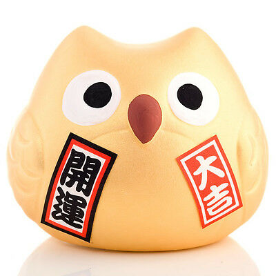 Feng Shui Good Fortune Japanese Lucky Owl