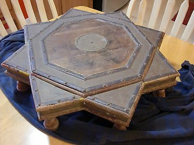 Antique Middle Eastern Ritual Altar / Alter Table, Islamic