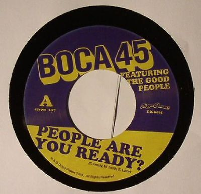 """BOCA 45 feat THE GOOD PEOPLE - People Are You Ready? - Vinyl (7"""")"""