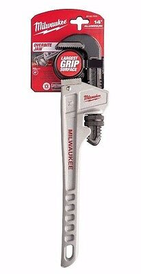 Milwaukee 48-22-7214 14 in. Aluminum Pipe Wrench - IN STOCK