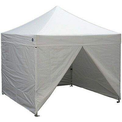 10 X 10 EZ Pop Up Canopy Tent Instant Canopy Commercial Tent with Sidewalls-New