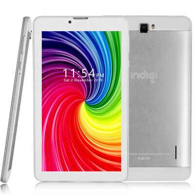 4G GSM UNLOCKED 7-inch White Quad-Core Android 9.0 Tablet PC + WiFi + Bluetooth
