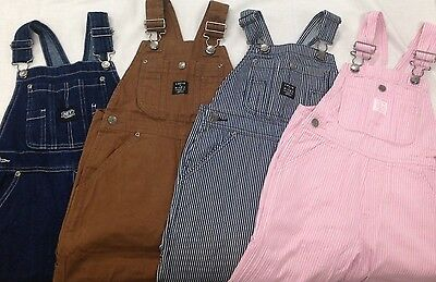 Key ~ Kids & Youth, Denim Work Overalls, NEW