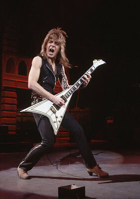 Art print POSTER / CANVAS Randy Rhoads Playing the Guitar