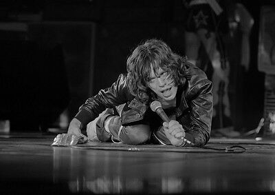 Art print POSTER / CANVAS Mick Jagger Crawling on Stage