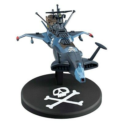 Figurine Albator/Captain Harlock - Réplique Space Pirate Battleship Arcadia 17cm