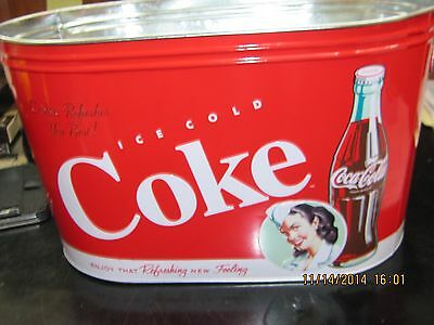"Coca-Cola Bucket ""Large PartyTub"" - NEW"