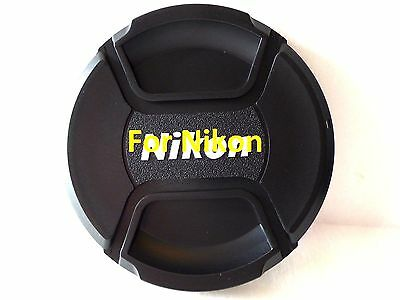 40.5mm Snap on Center Pinch Lens Cap Dust Cover Protector For Nikon New