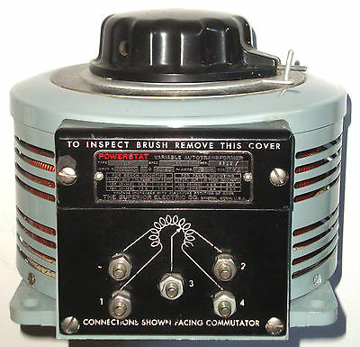 Powerstat / Variac  20 Amps 120 Volts In, 0-140 Volts Out  2.9 Kva