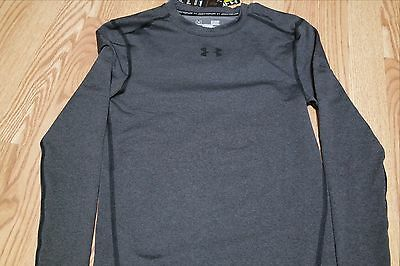 baed2463e Under Armour Men's Compression Long Sleeve Grey Shirt, Size S, 1265650 090,  Nwt