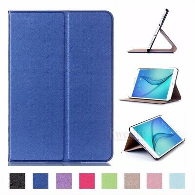 Folio Slim Leather Stand Smart Case Cover For Samsung Galaxy Tab A/S2/S3