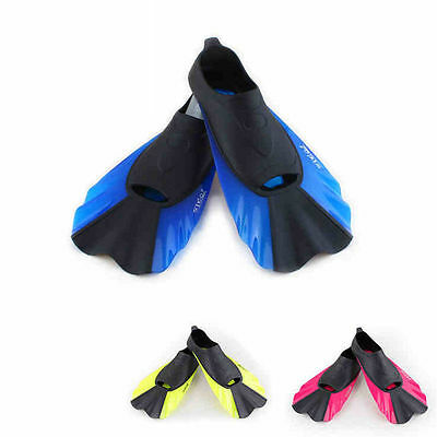 PRT Silicone Scuba Diving Swimming Snorkeling Shoes Boots Short Fins Flippers