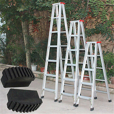1 Pair Rubber Non Slip Replacement Step Ladder Feet Foot Cover Mat Cushion Sole