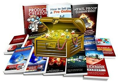 The ClickBank Super Pack Training Internet Marketing Make Money From Home Online