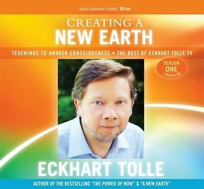 Creating A New Earth 7 DVD Set by Eckhart Tolle
