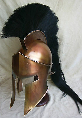 Spartan King Leonidas 300 Movie Helmet Replica for larp role plays cosplays pro
