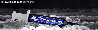"""Innovation Cooling Diamond """"7 Carat"""" Thermal Compound - 1.5 Grams by IC Diamond"""