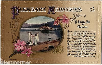 A Little Bit of Heaven, Bamforth Song Postcard, posted 1916