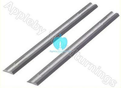 10 x 82mm carbide planer blades to suit Makita & Trend