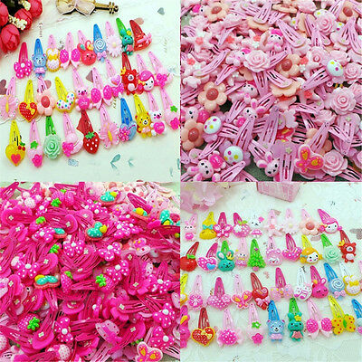 Wholesale 10 pcs Mix Styles Assorted Baby Kids Girls HairPin Hair Clips Jewelry