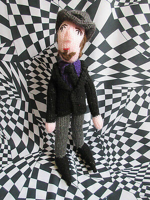 Limited Edition Handmade Tom Waits doll in wool