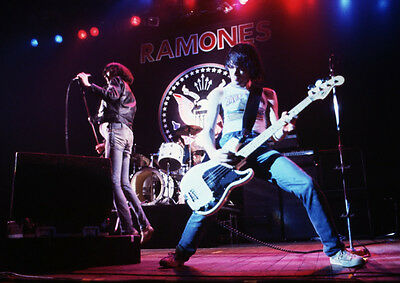 Art print POSTER Dee Dee Ramone, Bass Player With The Ramones