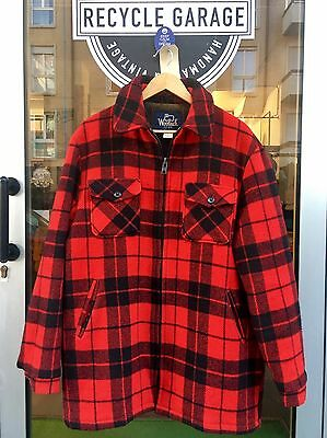 Giacca Woolrich Tg.l Flanella Cpo Original 80's Vintage