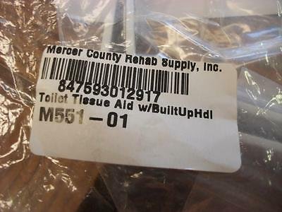 Mercer County Rehab Supply Toilet Tissue Aid with Built Up Handle #M551-01 NEW